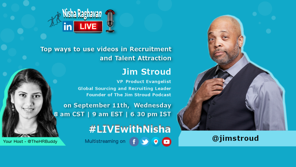Nisha Raghavan w_Jim Stroud_videos in recruiting